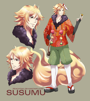 commission . susumu by peachtail