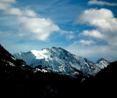 Snowy mountains 11 by Limited-Vision-Stock
