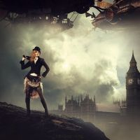 Lady Steampunk by CharllieeArts