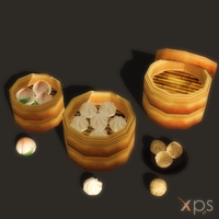 Steamed Buns (Props) by KoDraCan