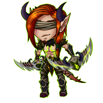 C: Carvian Chibi by Zyvian