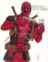 Deadpool You Crazy by Kazekuro