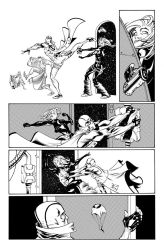Fantomex MAX, Issue 1, page 6 by Inkpulp