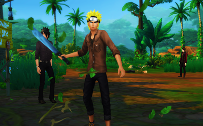[TS4] Naruto and others by NarutoTheSims
