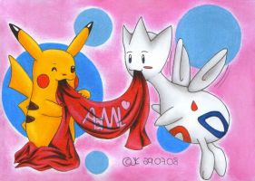Their pokemon know the truth by JunAkera