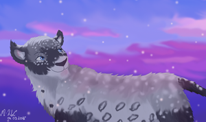 Let it snow - commission by M-WingedLioness