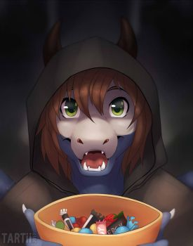 Trick Or Treat by Tartii