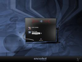 Encoded Logon by PixelPirate