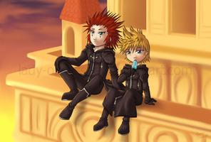 KH2 -- A Moment Shared by lady-obsessed
