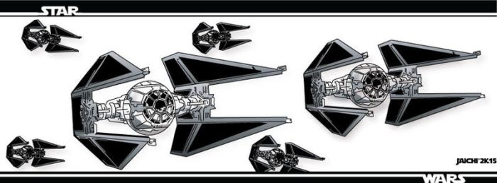 Star wars tie-interceptors banner by 3Ninja