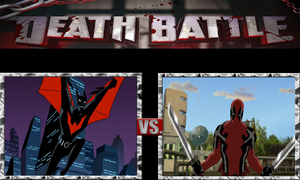 Terry McGinnis vs. Deadpool by JasonPictures