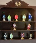 Dolls House Scale Faberge Eggs by MayEbony