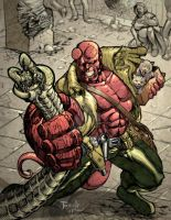Hellboy Color by Fpeniche
