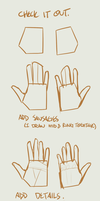 Drawing Hands by Flowerbush