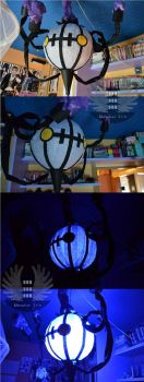 Chandelure Lamp by Drak-Gimla-Hongki