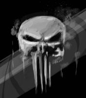 The Punisher by SuperG0blin