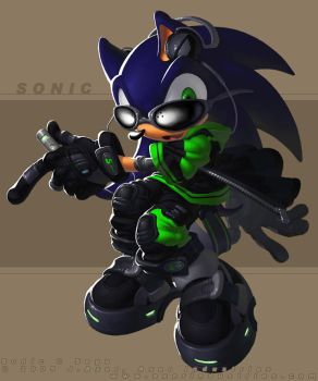 Sonic MP3 by JayAxer