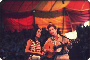 Bob Dylan and Joan Baez by BobDylans-Blues
