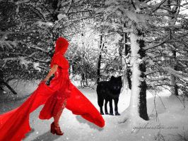 Little Red Riding Hood by justaddgigi
