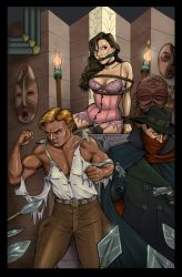 Doc Savage and The Shadow by DocRedfield
