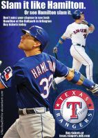 Josh Hamilton/Texas Rangers Ad by KriticKilled