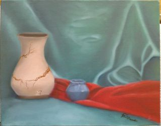 Still Life with Vases by Songwind