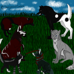 My Six Lovely Characters by DangerousCanine