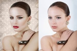 Before and After Retouch 1 by lightplutonium