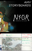 NAOR AMV - Storyboards Part 1of9 by Ahkward
