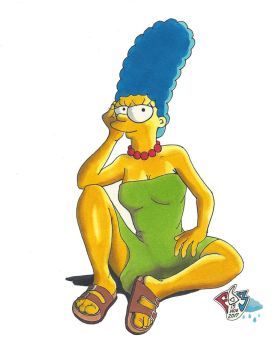 Marge Rainy Day by Gulliver63