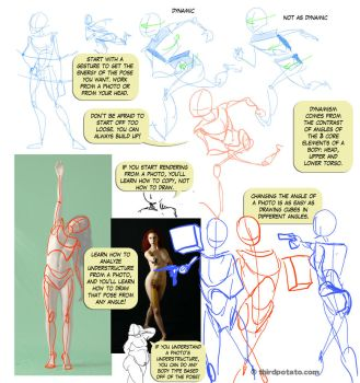 Notes on Gesture and Photo Ref by ThirdPotato