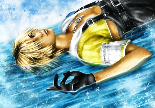 Tidus Water Dreams by Tsukishibara