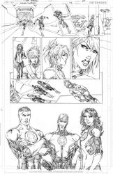 Green Lanterns #42 page 5 PENCIL by vmarion07