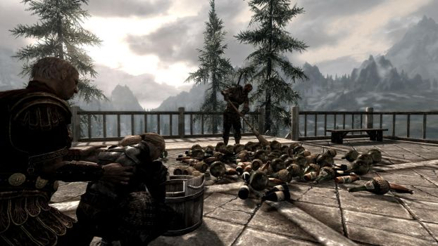 Party at the Dovahkiin. Part 13. Hangover by totalfreak2002