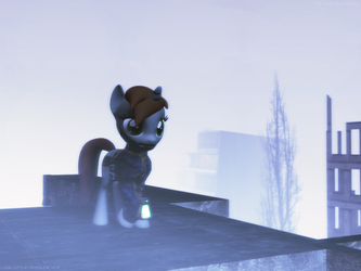 Lone Little Pipsquick by falloutshararam
