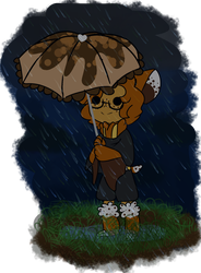 HumBun Prompt | Rain puddles by Space--King