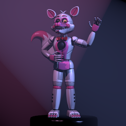 Funtime Foxy preforming by Timimouse15
