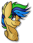 .:Headshot YCH:. Glowing Ember by Spitfire-SOS