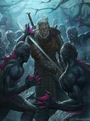 Geralt of Rivia by Speeh