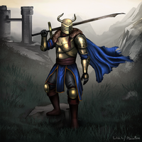 Knight Speedpaint by PlainBen