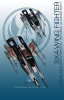 StarWars MassEffect Crossover SX4-WING FIGHTER by rs2studios