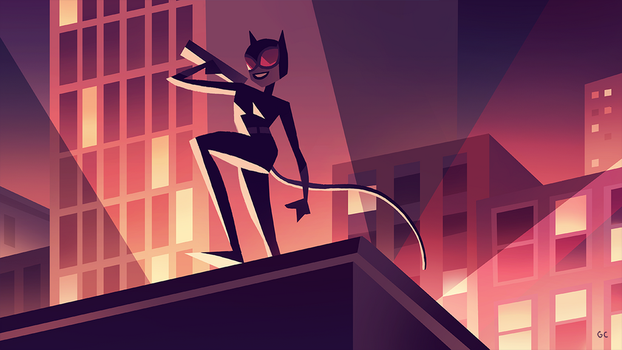 catwoman (2/3) by genicecream