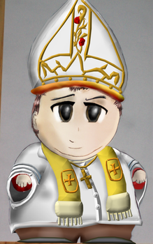 Pope Cartman by RIP-Kenny-McCormick