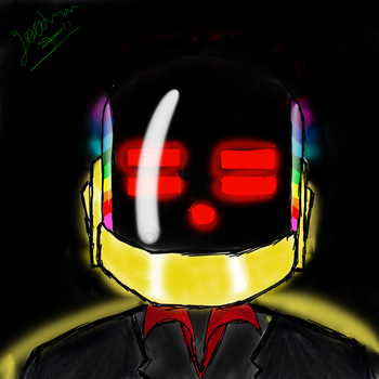 daft punk - guy manuel by goodman314