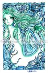 Sea Green by SeraphimFeathers