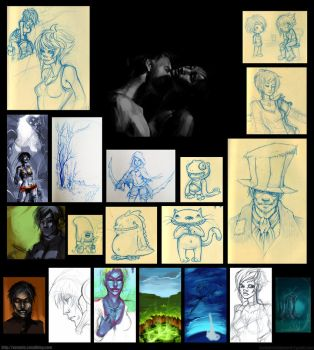 Sketches and other stuff by youffy
