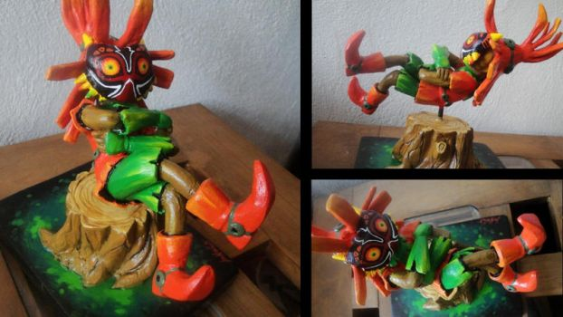SKULLKID - FIGURA (sculpture) by DEVIAN-MALKHAVIAN