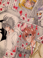 .:Death Note:. by SamanthaJones29