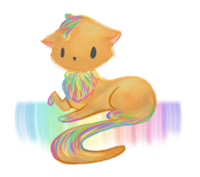 GIFT: Paint Kitty by nmystery