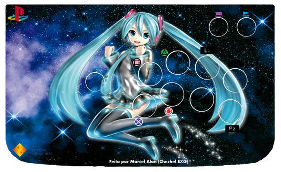 Miku Sweet Arcade Art (PS) by ChechelEXGBR